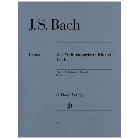 Bach, J. S.: Das Wohltemperierte Klavier Teil II