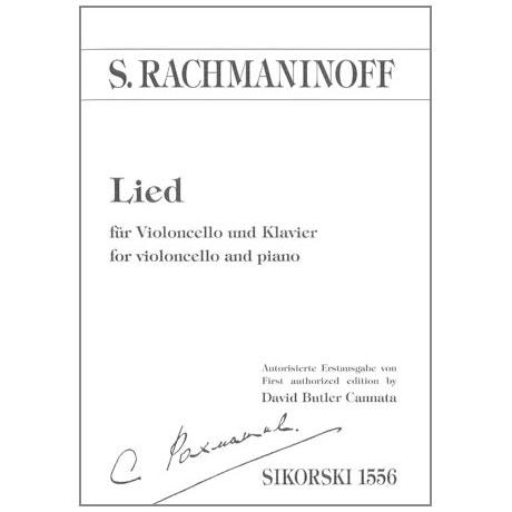 Rachmaninow, S.: Lied