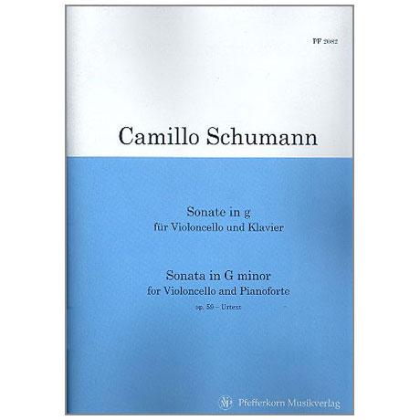 Schumann, C.: Sonate g-Moll Op. 59