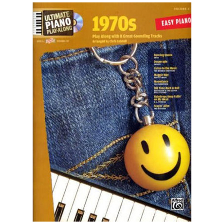 Ultimate Piano Play-Along – 1970s (+CD)