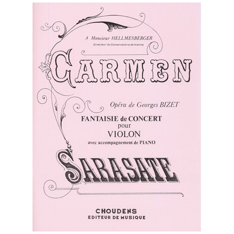 Bizet, G.: Carmen Fantaisie de Concert