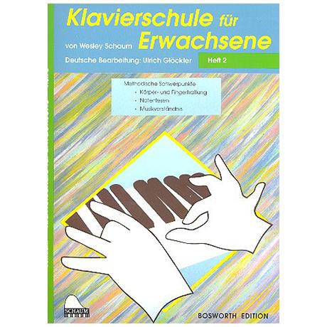 Schaum, J.W.: – Klavierschule für Erwachsene Band 2