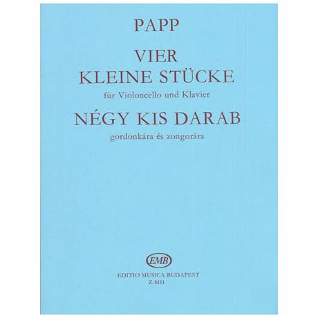 Papp, L.: 4 kleine Stücke
