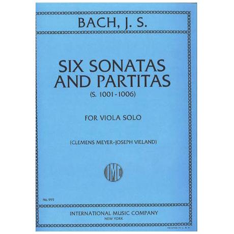 Bach, J.S.: 6 Violinsonaten + Partiten (BWV 1001 - 1006)