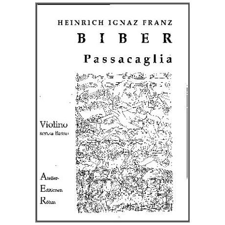 Biber, H.I.F.: Passacaglia