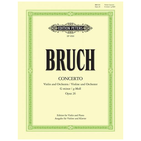 Bruch, M.: Konzert g-Moll Op.26