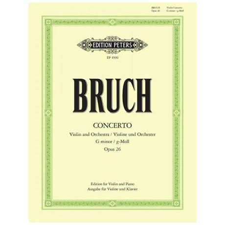 Bruch, M.: Violinkonzert Nr. 1 Op. 26 g-Moll