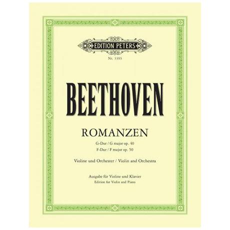Beethoven, L. v.: 2 Romanzen Op. 40 und Op. 50 (Flesch)