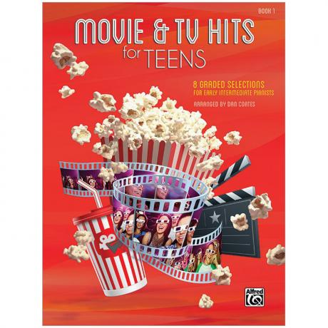 Movie & TV Hits for Teens Book 1