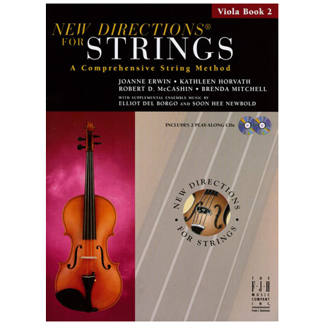 New Directions for Strings - Viola Book 2 (+CD)