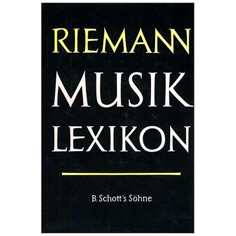 Riemann Musiklexikon Band 2/1