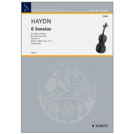 Haydn, J.: 6 Violasonaten Hob.VI: 4-6