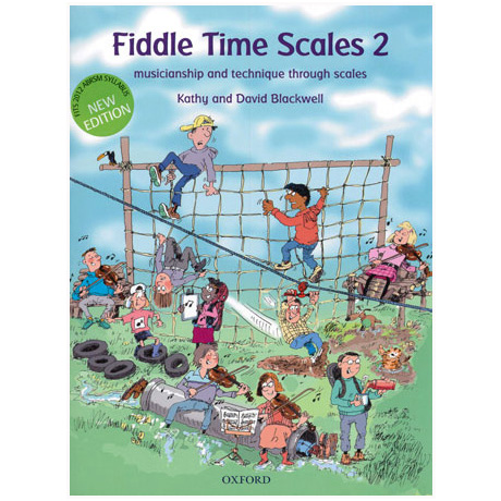 Blackwell, K. & D.: Fiddle Time Scales Band 2