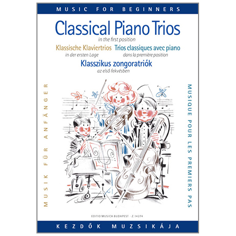 Klassische Klaviertrios in der 1. Lage