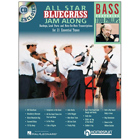 All Star Bluegrass Jam Along (+CD)
