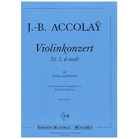 Accolay, J.-B.: Violinkonzert d-moll Nr. 2
