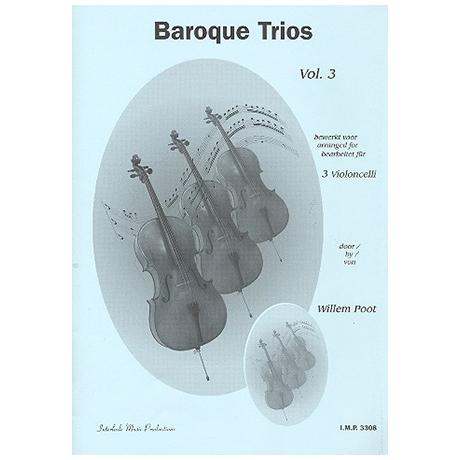 Poot, W.: Baroque Trios Vol.3