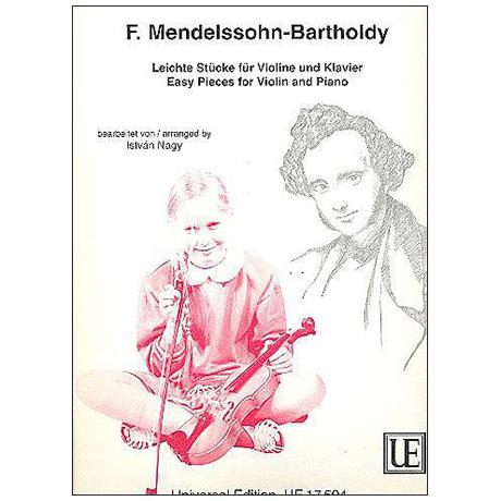 Mendelssohn Bartholdy, F.: Leichte Stücke