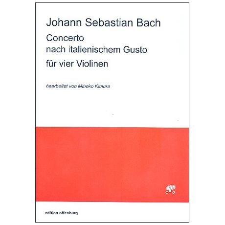 Bach, J. S.: Concerto nach italienischem Gusto