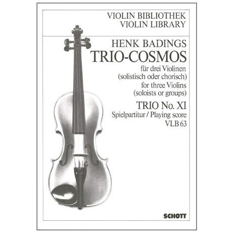 Badings, H. H.: Trio-Cosmos Nr. 11
