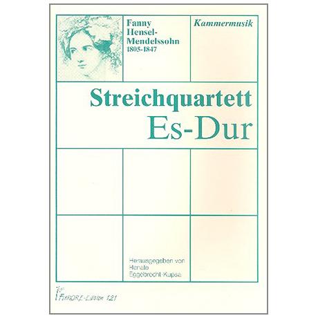 Hensel (Mendelssohn), F.: Streichquartett Es-Dur