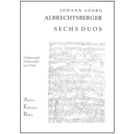Albrechtsberger, J.G.: 6 Duos