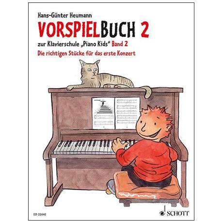 Heumann, H.-G.: Vorspielbuch 2 – Die richtigen Stücke für das erste Konzert