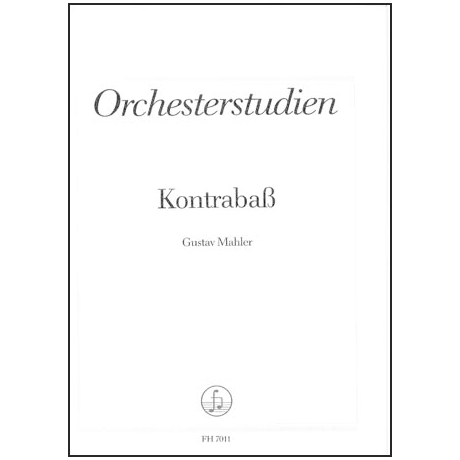 Mahler, Gustav: Orchesterstudien
