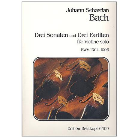 Bach, J.S.: 3 Sonaten und Partiten BWV1001-1006