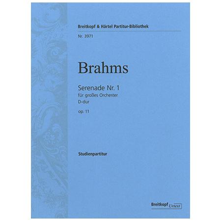 Brahms, J.: Serenade Nr. 2 A-Dur Op. 16