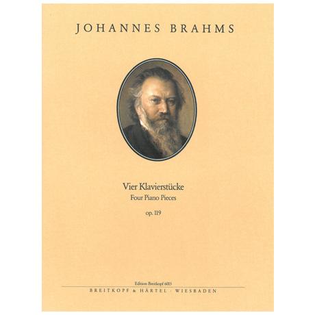 Brahms, J.: Vier Klavierstücke Op. 119