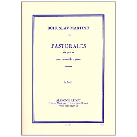 Martinu, B.: Pastorales