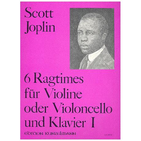 Joplin, S.: 6 Ragtimes Band 1
