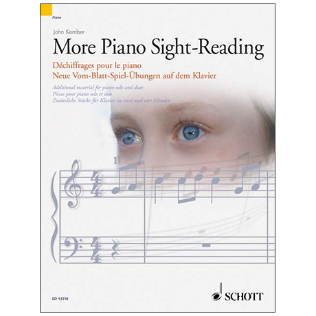Kember, J.: More Piano Sight-Reading – Neue Vom Blatt-Spiel Übungen