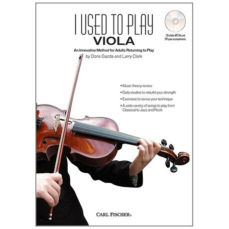 Gazda, D. / Clark, L.:  I Used to Play Viola (+CD)