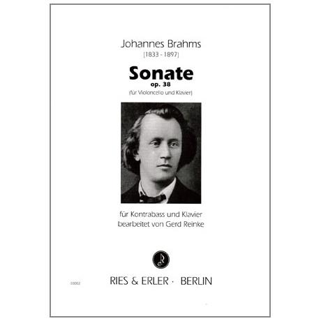Brahms, J.: Kontrabasssonate Op.38