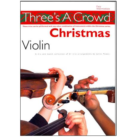 Three's A Crowd – Christmas Violin