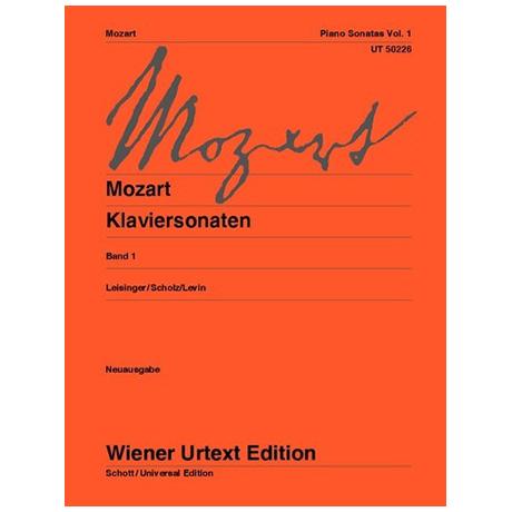 Mozart, W. A.: Klaviersonaten Band 1
