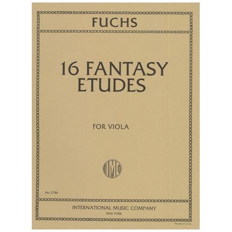 Fuchs, L.: 16 Fantasy Etudes
