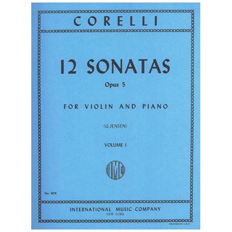 Corelli, A.: 12 Violinsonaten Op. 5 Band 1
