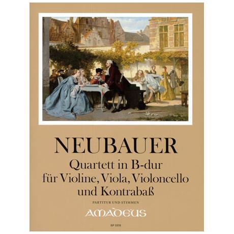 Neubauer: Quartett in B-Dur
