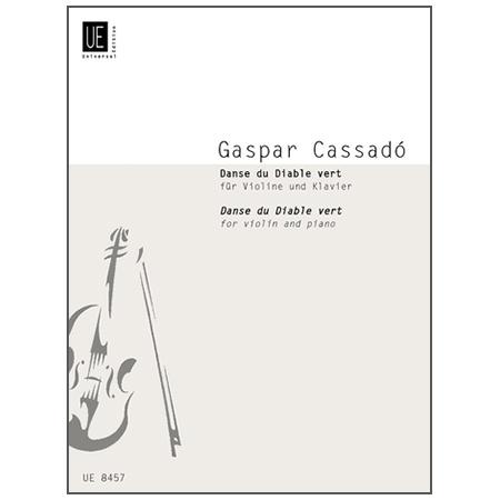 Cassadó, G.: Danse du Diable vert (Tanz des grünen Teufels)