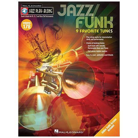 9 Favorite Tunes: Jazz / Funk (+Online-Audio)