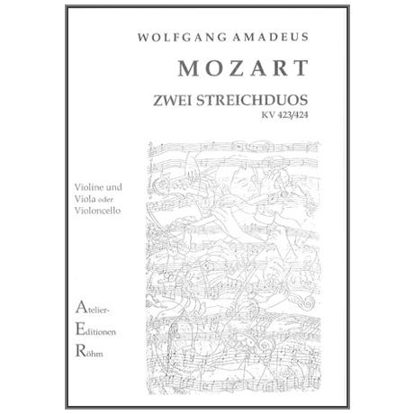 Mozart, W.A.: 2 Streichduos KV 423/424