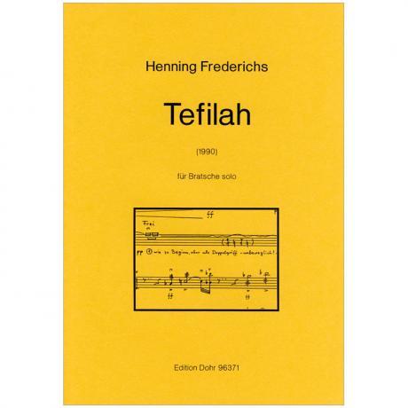 Frederichs, H.: Tefilah (nach dem 55. Psalm) (1990)