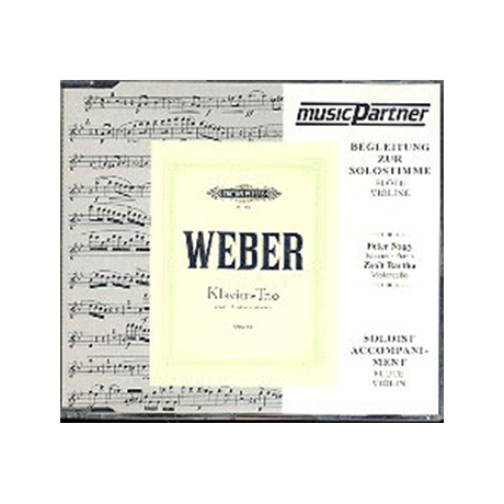 Weber, C.M.v.: Trio g-moll, op. 63 Compact-Disc CD