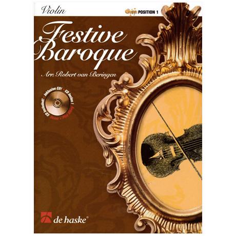 Festive Baroque (+CD)