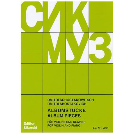 Schostakowitsch, D.: Albumstücke