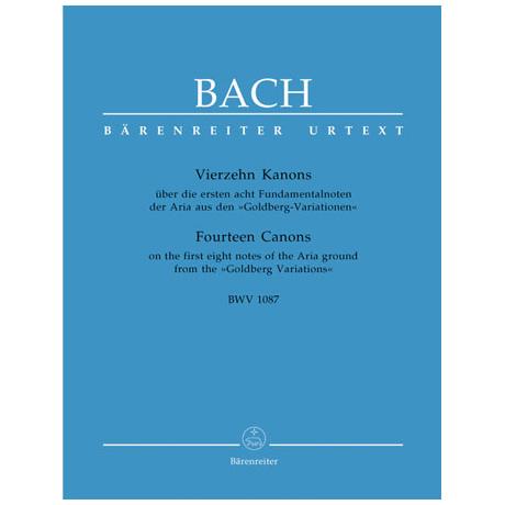 Bach, J. S.: Vierzehn Kanons BWV 1087