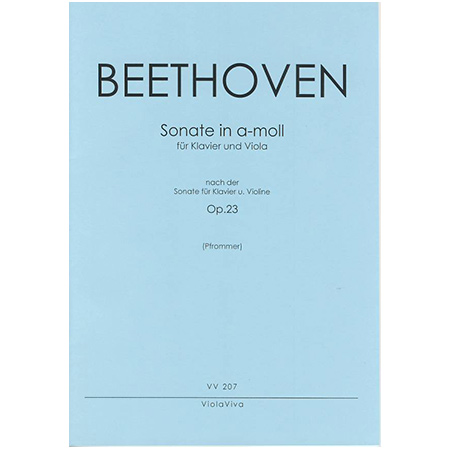 Beethoven, L. v.: Violasonate a-Moll nach Op. 23